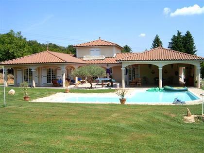 Villa vendre situation 15 min sud est lyonnais for Constructeur maison sud est